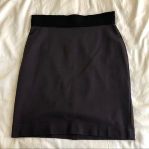 BCBG Monica Pencil Skirt- Plum